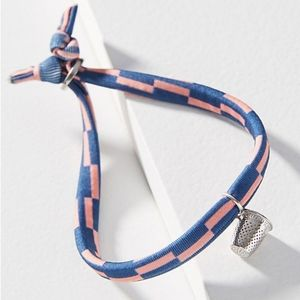 Anthropologie Keep Out Charm Bracelet